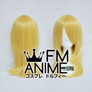 50cm Pageboy Mixed Gold Cosplay Wig