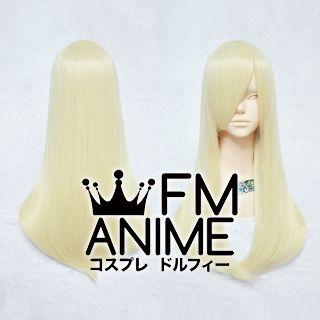 60cm Pageboy Light Gold Cosplay Wig