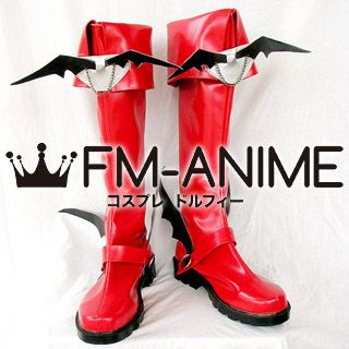 Mabinogi Male Succubus Cosplay Shoes Boots