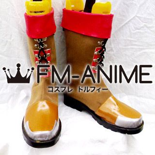 Super Robot Wars Axel Almer Cosplay Shoes Boots