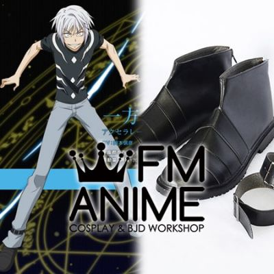 A Certain Magical Index Accelerator Cosplay Shoes Boots