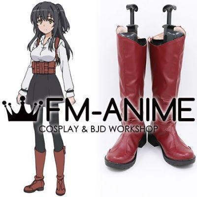 A Certain Scientific Railgun T Yumiya Rakko Cosplay Shoes Boots
