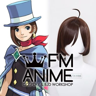 Ace Attorney Trucy Wright Cosplay Wig