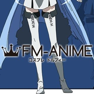 Akame ga Kill! Esdeath Cosplay Shoes Boots