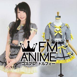AKB48 Everyday, Katyusha (Everyday, カチューシャ) Yellow Black & White Square Cosplay Costume
