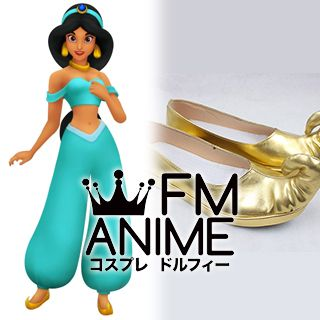 Aladdin (Disney film) Princess Jasmine Cosplay Shoes (Foot length 24.5cm)