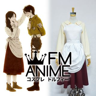 Attack on Titan Eren Yeager Mother Cosplay Costume