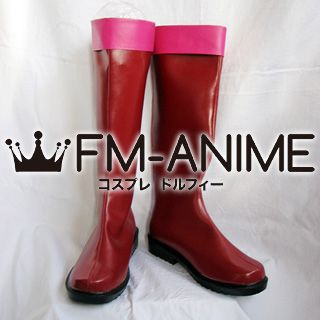 Tegami Bachi Sylvette Suede Cosplay Shoes Boots