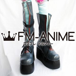 Tales of Vesperia Yuri Lowell Cosplay Shoes Boots (School Version)