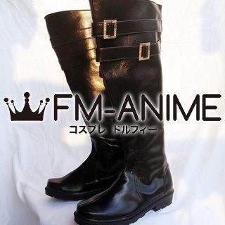 Final Fantasy VII Genesis Rhapsodos Cosplay Shoes Boots