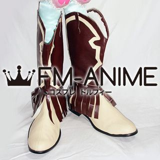 A Certain Magical Index Kaori Kanzaki Cosplay Shoes Boots (Figure Version)