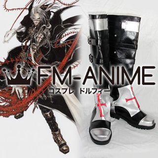 Trinity Blood Abel Nightroad Cosplay Shoes Boots