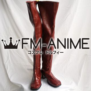 Vocaloid Meiko Senbonzakura Cosplay Shoes Boots