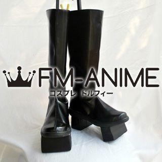Vocaloid Kaito Senbonzakura Cosplay Shoes Boots (Black)
