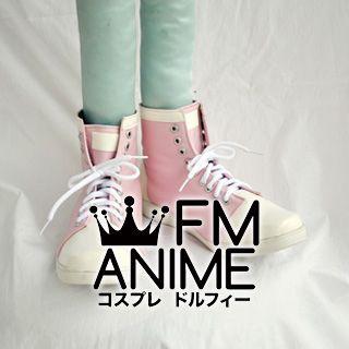Highschool of the Dead Saya Takagi Cosplay Shoes Boots