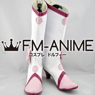HeartCatch PreCure! Tsubomi Hanasaki (Cure Blossom) Cosplay Shoes Boots