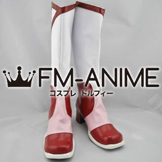 Yes! Pretty Cure 5 Rin Natsuki (Cure Rouge) Cosplay Shoes Boots