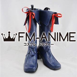 AKB0048 Cosplay Shoes Boots (Dark Blue)