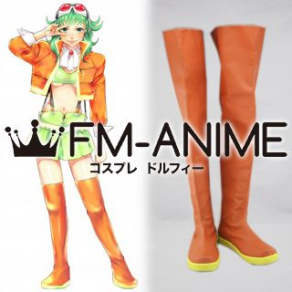 Vocaloid Gumi Megpoid Cosplay Shoes Boots