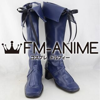 AKB0048 Yuki Kashiwagi / Haruna Kojima / Tomomi Itano Cosplay Shoes Boots (Dark Blue)