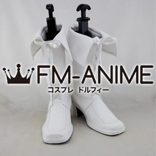 AKB0048 White Cosplay Shoes Boots