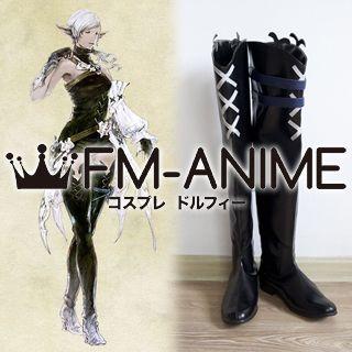 Final Fantasy XIV Elezen (Female) Cosplay Shoes Boots