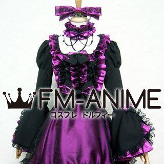 Black & Pink Punk Dress Cosplay Costume