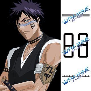 Bleach Shuhei Hisagi Cosplay Tattoo Stickers