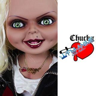Bride of Chucky Tiffany Doll Cosplay Tattoo Stickers