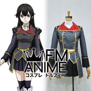 Buddy Complex Hina Yumihara Military Uniform Cosplay Costume