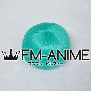 4 Inches Spiral Drawstring Bun Lake Green Cosplay Wig Accessory