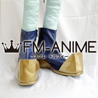 Dynasty Warriors 6 Sima Shi / Shiba Shi Cosplay Shoes Boots