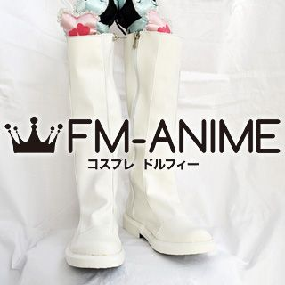 Shining Tears / Shining Wind Ryuna Cosplay Shoes Boots