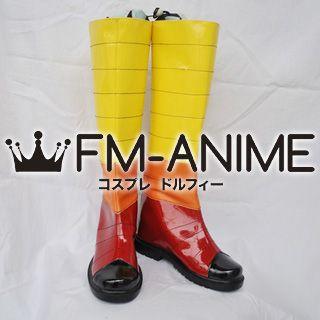 Katanagatari Hoo Maniwa Cosplay Shoes Boots