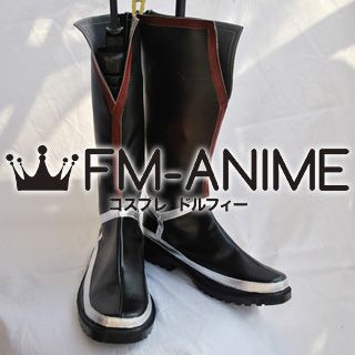 Tales of the Abyss Largo the Black Lion Cosplay Shoes Boots