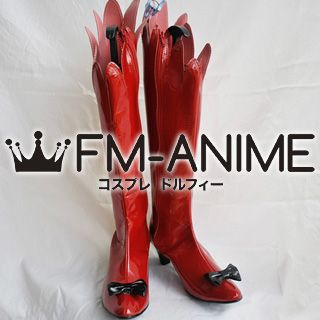 Shining Hearts Mistral Nereis Cosplay Shoes Boots