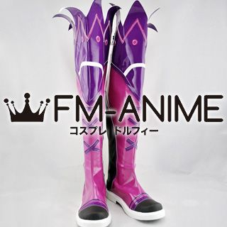 Grand Chase Amy Cosplay Shoes Boots