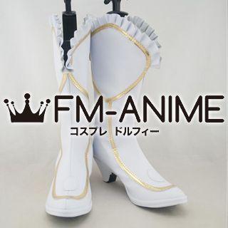 Shining Hearts Rufina (Princess of Wynderia) Cosplay Shoes Boots