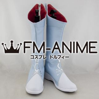 RWBY White Weiss Schnee Cosplay Shoes Boots