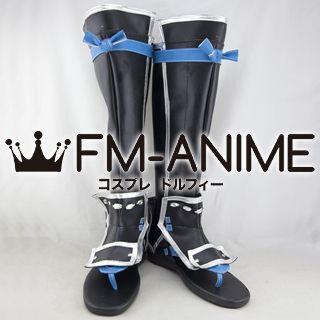 Samurai Warriors 4 Mitsuhide Akechi Cosplay Shoes Boots