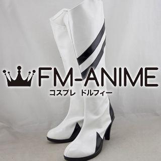 Neon Genesis Evangelion Rei Ayanami Racing Cosplay Shoes Boots