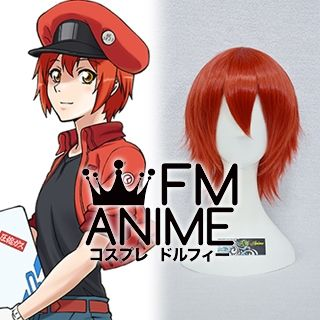 Cells at Work! Red Blood Cell AE3803 Erythrocyte Cosplay Wig