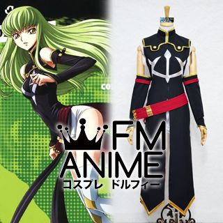 Code Geass: Lelouch of the Rebellion R2 C.C. Cosplay Costume