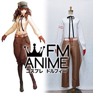 Code: Realize Cardia Beckford Steampunk Alternate Outfit Cosplay Costume with Hat