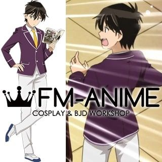 Come Together! to the Seton Academy Jin Mazama Uniform Cosplay Costume