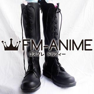 Hakuoki  Hajime Saito Cosplay Shoes Boots