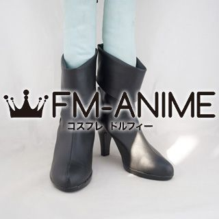Phoenix Wright: Ace Attorney Justice for All (series) Franziska von Karma Cosplay Shoes Boots #D129