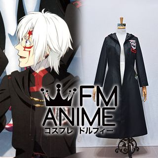 D.Gray-man Hallow Allen Walker The Black Order Military Uniform Cosplay Costume Coat Cloak Cape