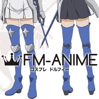 Is It Wrong to Try to Pick Up Girls in a Dungeon? Ais Wallenstein Cosplay Shoes Boots