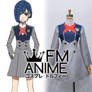 DARLING in the FRANXX Code015 Ichigo Uniform Cosplay Costume